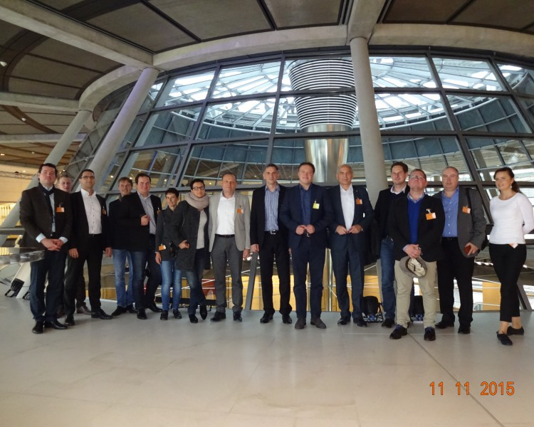 ITnet Delegation in Berlin